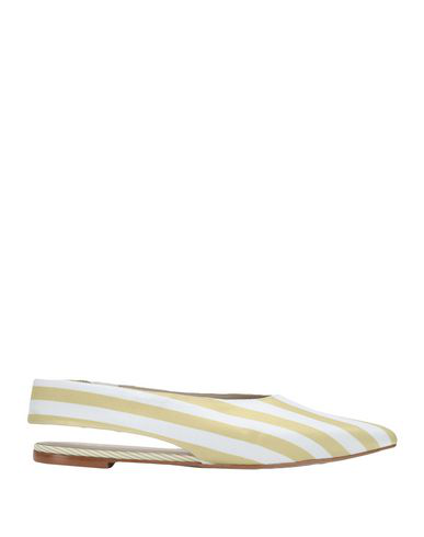 8 By Yoox Ballet Flats In Yellow