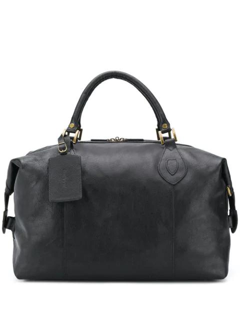 Barbour Travel Explorer Holdall Bag In Black