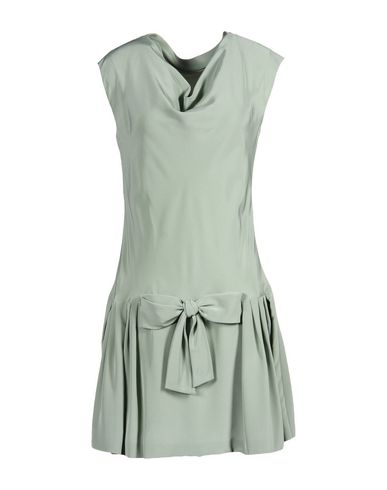 Moschino Short Dress In Light Green