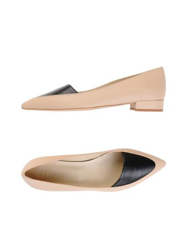 8 By Yoox Ballet Flats In Beige