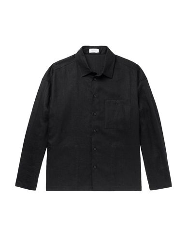 Fanmail Linen Shirt In Black