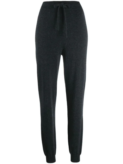 Pringle Of Scotland Drawstring Jogging Style Trousers In Grey