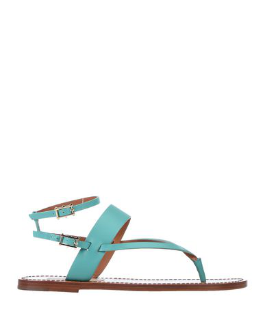 Valentino Garavani Flip Flops In Light Green