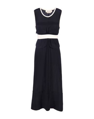 Marni Midi Dress In Black