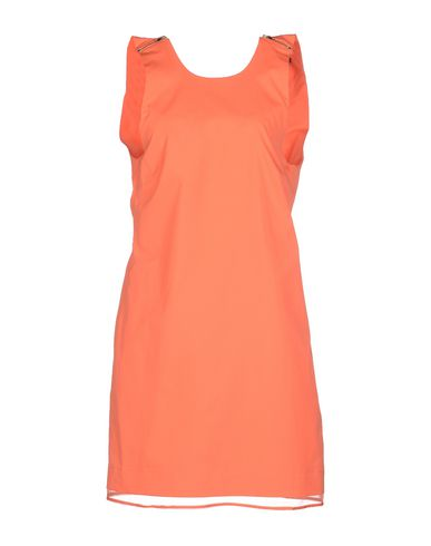 Victoria Beckham Short Dress In Coral