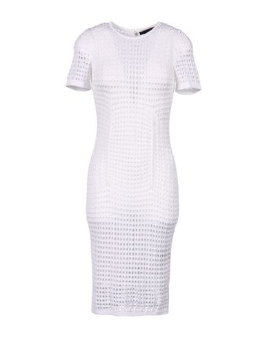 Alexander Wang Knee-Length Dress In White