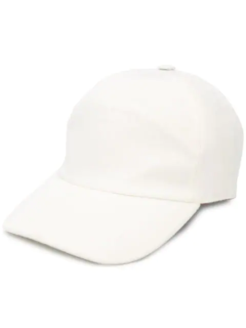 Loro Piana Baseball Cap In White