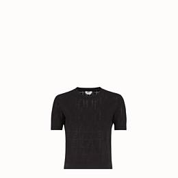 Fendi Jumper In Black