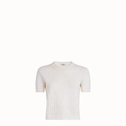 Fendi Jumper In White
