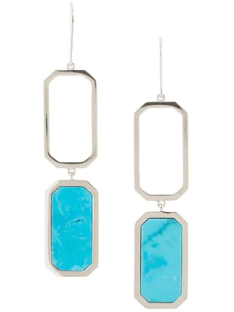 Julia Davidian Droplet Earrings In Gold