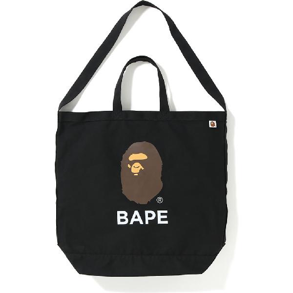 Bape Shoulder Tote Bag Black