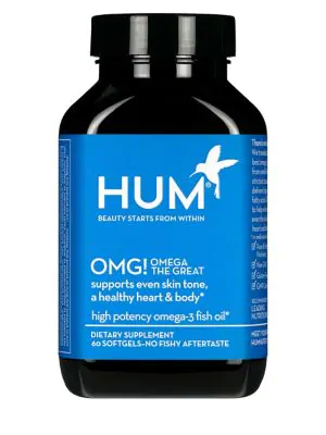 Hum Nutrition Omg! Omega The Great Hydrating Vitamin E Supplement