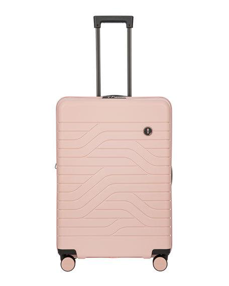 "Bric's B/y Ulisse 28"" Expandable Spinner Luggage In Pearl Pink"