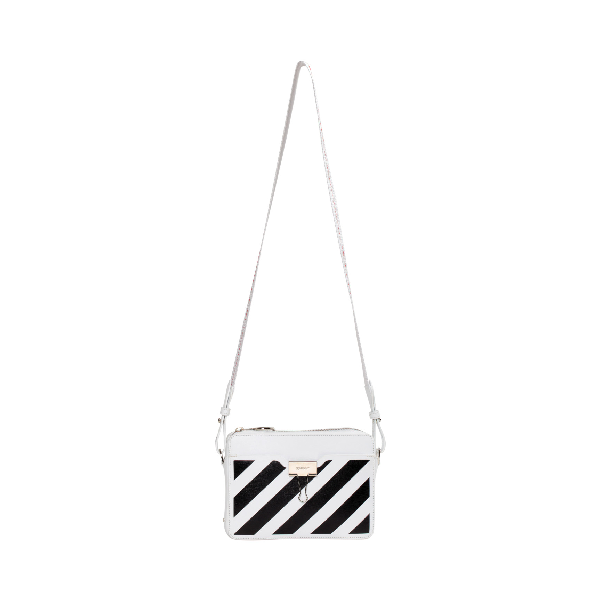Off-white Camera Bag Diag White Black