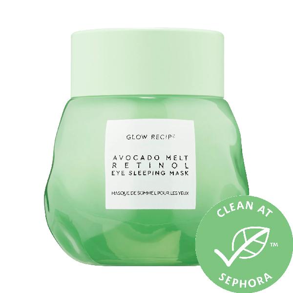 Glow Recipe Avocado Melt Retinol Eye Sleeping Mask 0.5 oz/ 15 ml