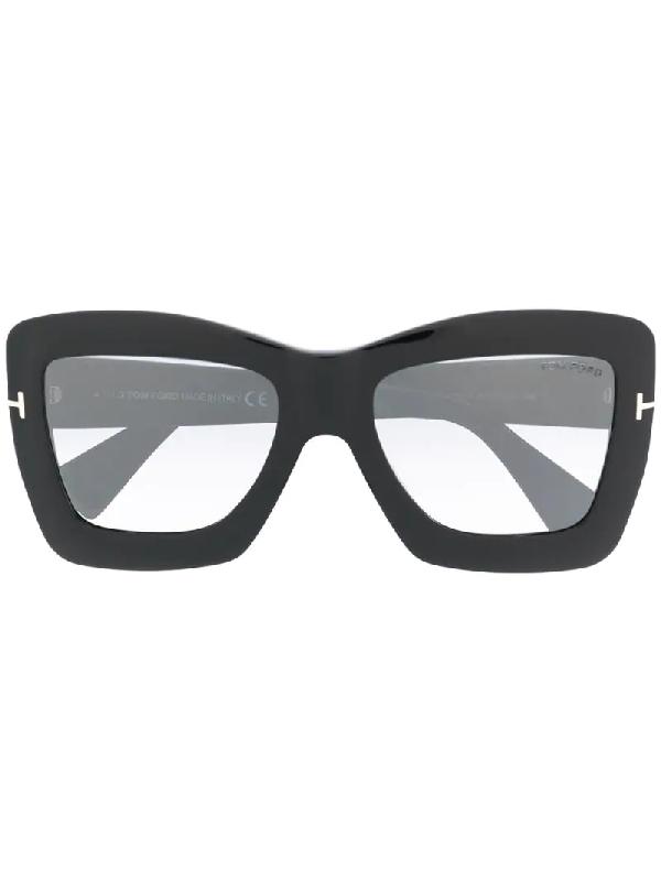 Tom Ford Sonnenbrille Mit Farbverlauf In Black