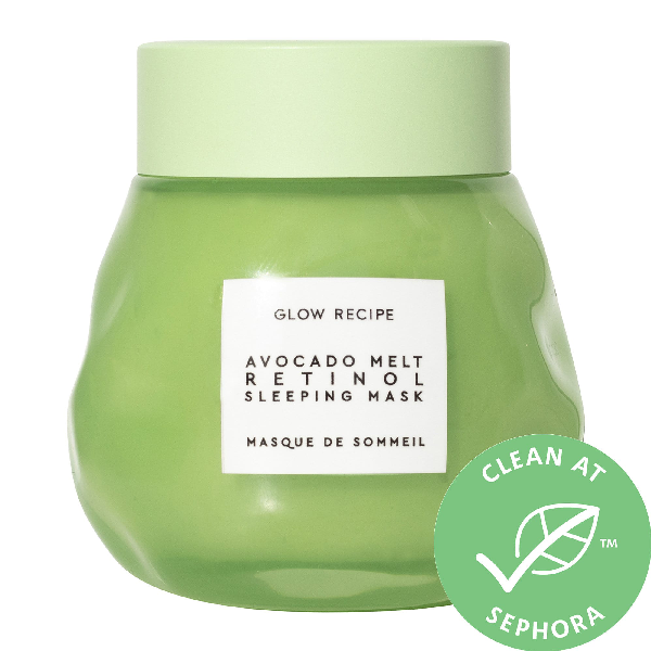 Glow Recipe Avocado Melt Retinol Sleeping Face Mask 2.3 oz/ 70 ml