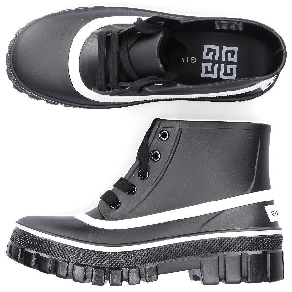Givenchy Rain Boots Glaston In Black