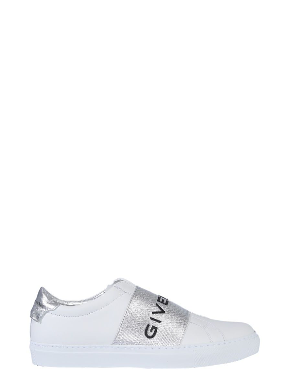 Givenchy Urban Street White And Silver Sneakers