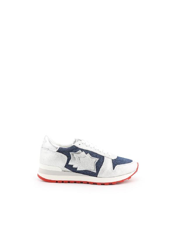 Atlantic Stars White Suede Sneakers