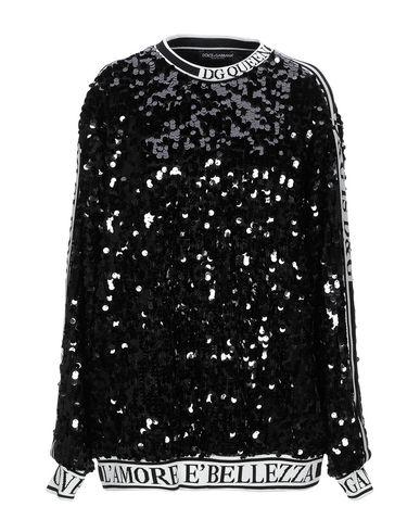 Dolce & Gabbana Sweatshirt In Black