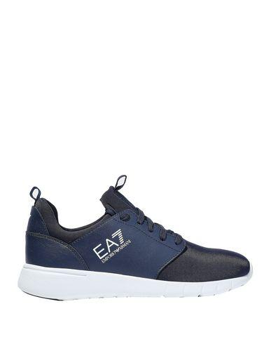 Ea7 Sneakers In Dark Blue