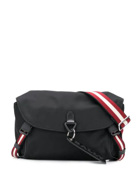 Bally Large Belt Bag In Black