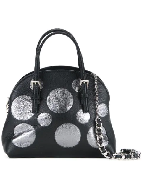 Amantes Amentes 'Tulip' Tote In Black