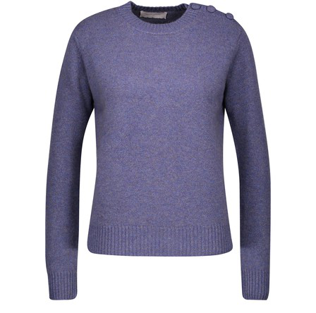 Alexandra Golovanoff Coco Sweatshirt In Blue