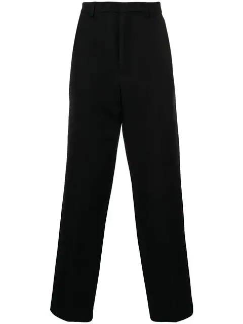 Ami Alexandre Mattiussi Wide Fit Trousers In 410 Navy