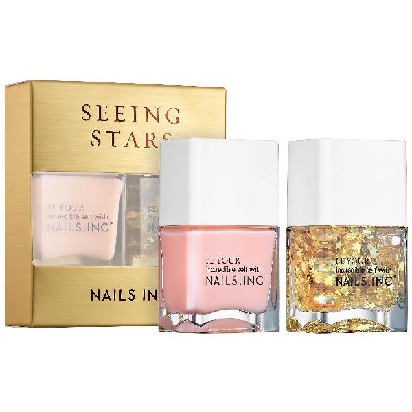 Nails Inc. Seeing Stars Nail Duo 2 X 0.47 oz/ 14 ml