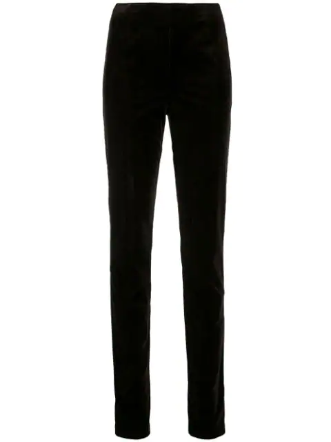 Holland & Holland Narrow Leg Trousers In Brown