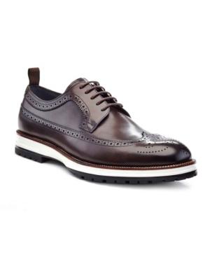 Ike Behar Men's Louis Oxfords Men's Shoes In Brown