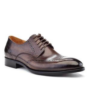 Ike Behar Men's Hand Made Dress Shoe Men's Shoes In Brown