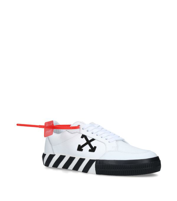Off-white Black & White Women's Low Top Vulcanized Trainers