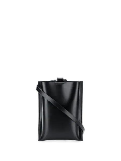 Venczel Pocket Cross Body Bag In Black