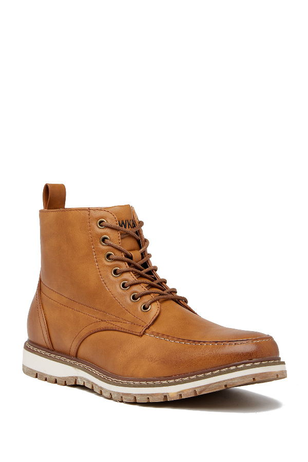 Hawke & Co. Sierra Lace-up Boot In Tan