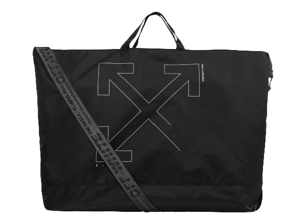 Off-white Unfinished Arrows Tote Bag Black