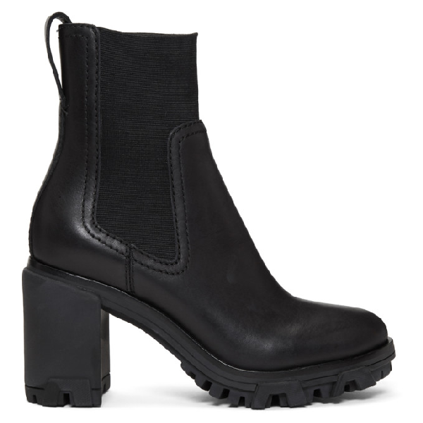Rag & Bone Women's Shiloh Block High-Heel Platform Boots In Black