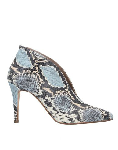 Cheville Ankle Boot In Sky Blue