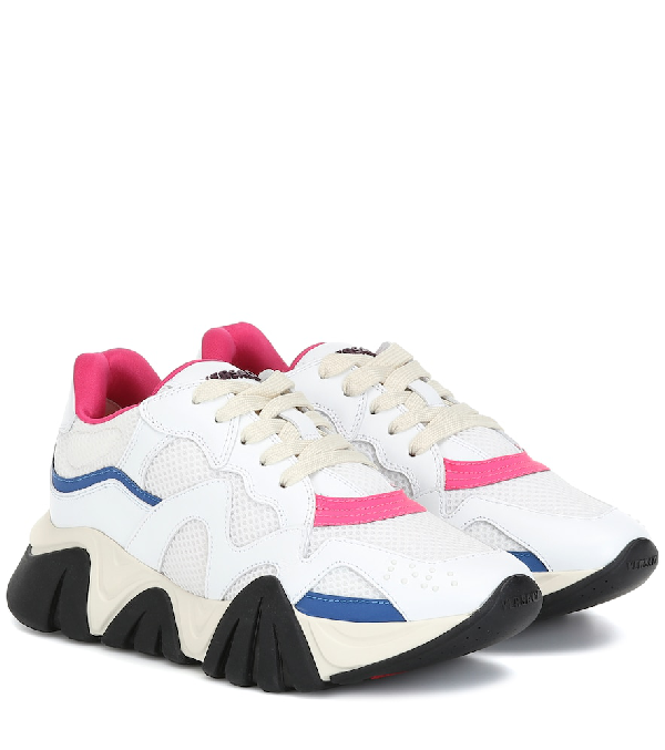 Versace Women's Shoes Trainers Sneakers  Squalo In White