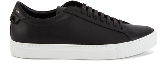 Givenchy Low-top Sneakers Urban Street Calfskin Logo Black