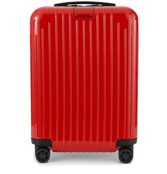 Rimowa Essential Lite Cabin Suitcase In Red Gloss
