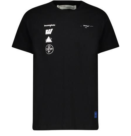 Off-White Black & White Oversized Mariana De Silva T-Shirt