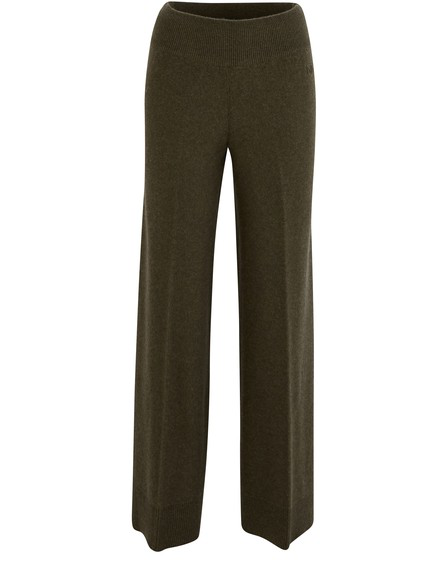 Alexandra Golovanoff Straight-cut Trousers In Green
