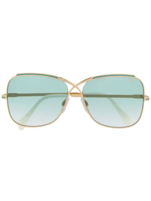 Cazal 2243 Sunglasses In Gold