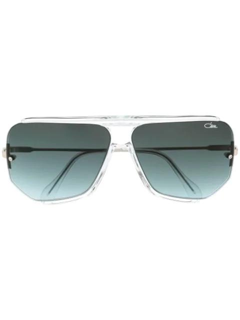 Cazal 850 Unisex Sunglasses In White