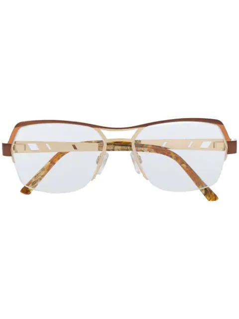 Cazal 1240 Glasses In Gold