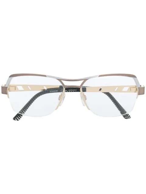 Cazal 1240 Glasses In Brown