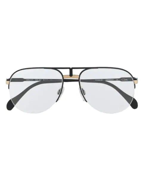 Cazal 717 Unisex Glasses In Black